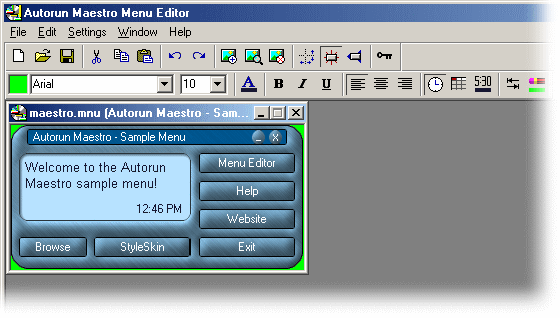 Autorun Maestro Screenshot