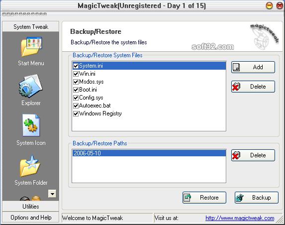 MagicTweak Screenshot 4
