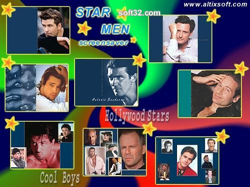Star Men Screensaver Screenshot