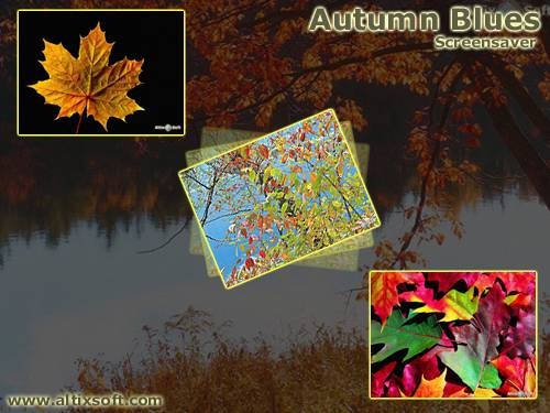 Autumn Blues Screensaver Screenshot