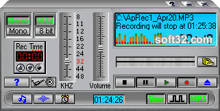 Audio Playback Recorder Screenshot