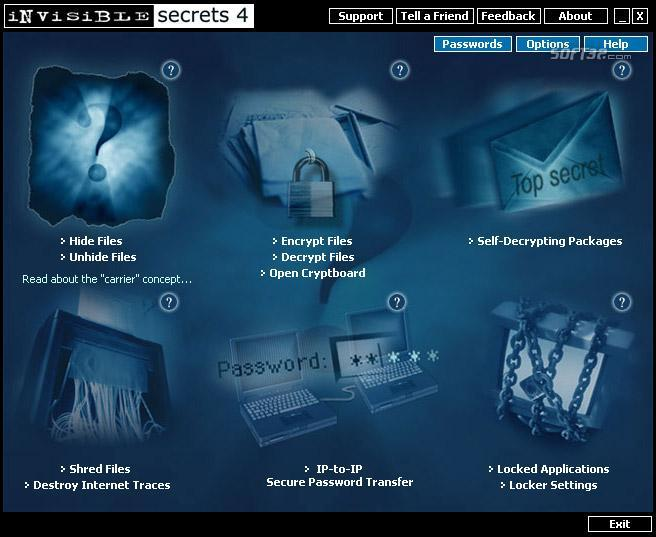 east-tec InvisibleSecrets Screenshot 5