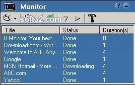 IEMonitor Screenshot