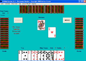 Infinite Spades Screenshot 1