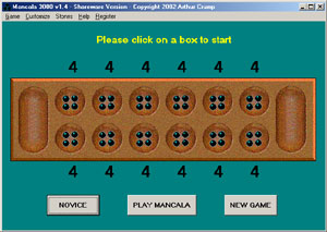 Mancala 3000 Screenshot 1