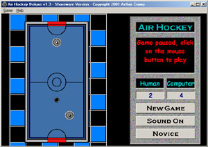 Air Hockey Deluxe Screenshot 1