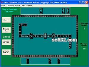 Shark Dominoes Screenshot 3