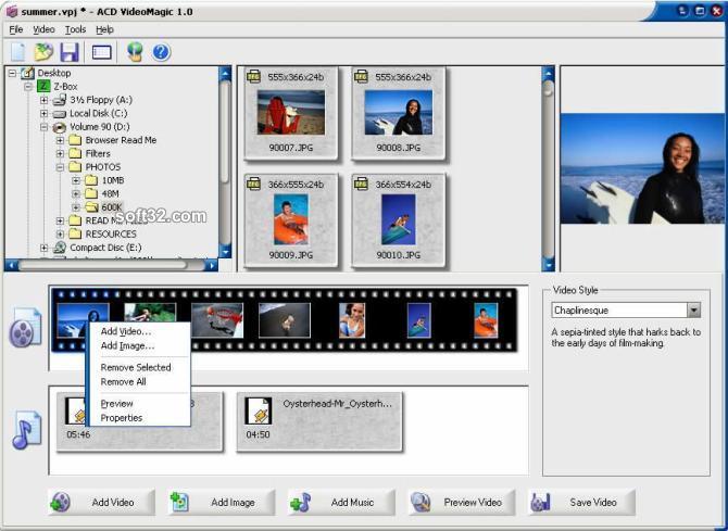 ACD VideoMagic Screenshot 3