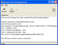 Recovery for Exchange Server 1