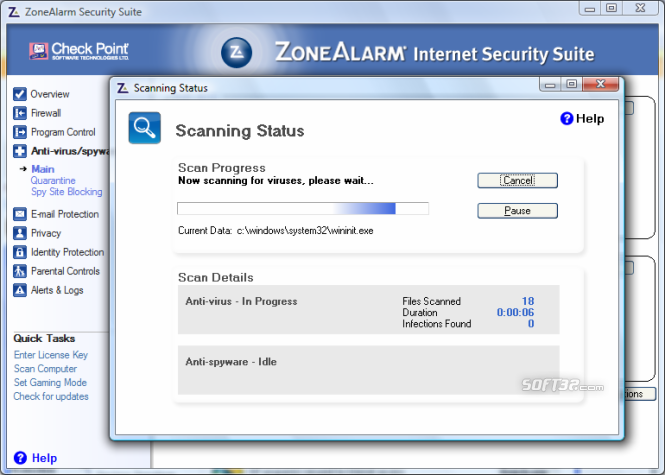 ZoneAlarm Security Suite Screenshot 4