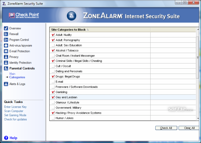 ZoneAlarm Security Suite Screenshot 6
