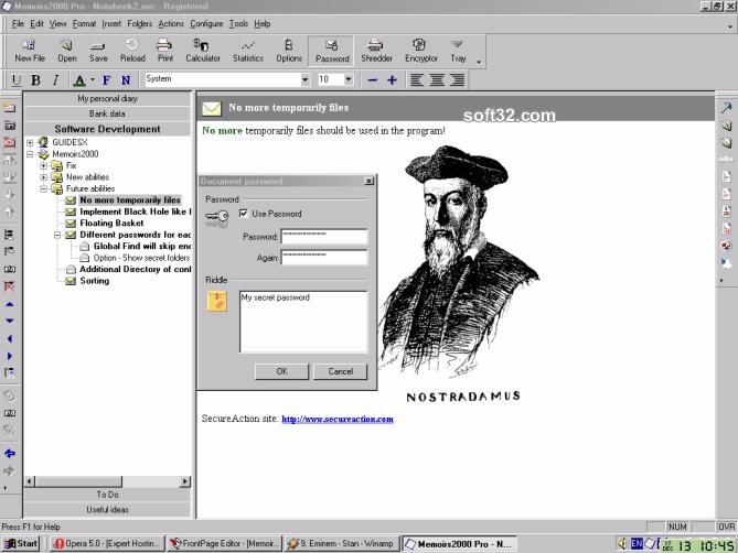 Secure Notes Organizer Screenshot 2
