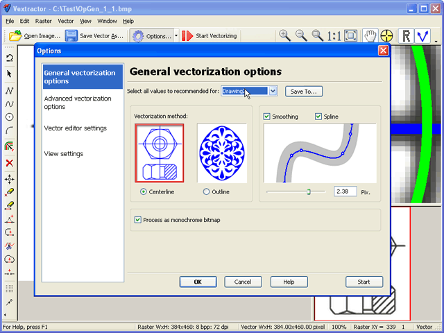 Vextractor Screenshot 1