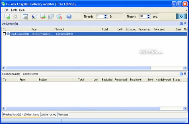 G-Lock EasyMail 5 Business Edition Screenshot 10