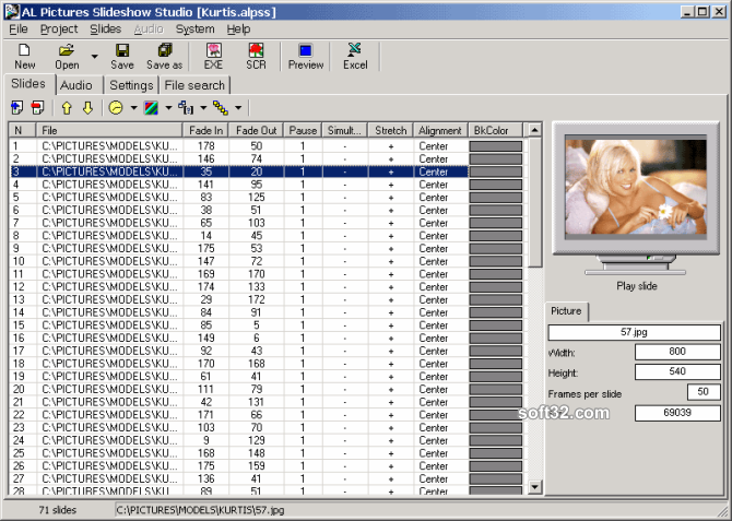 AL Pictures Slideshow Studio Screenshot 3