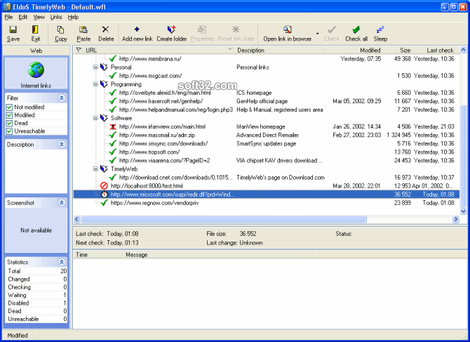 TimelyWeb Screenshot 3
