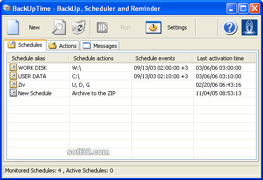 BackUpTime Screenshot 2