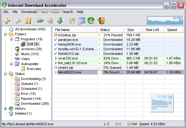 Download Internet Download Accelerator 6 18