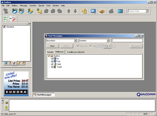 Eudora OSE Screenshot 2