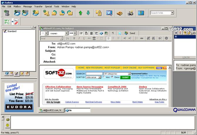 Eudora OSE Screenshot 4