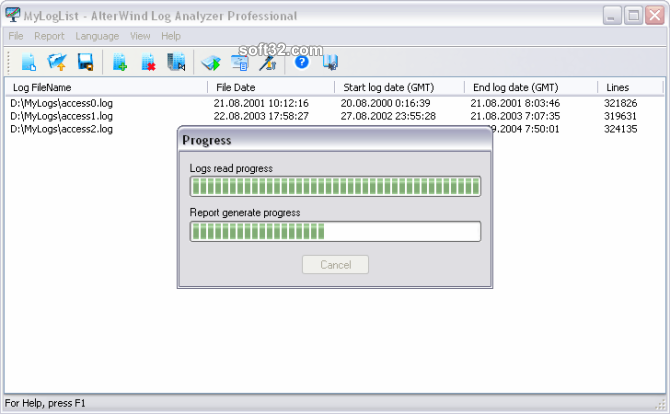 AlterWind Log Analyzer Professional Screenshot 4