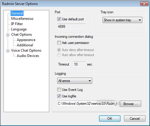 Radmin Remote Control Screenshot 5