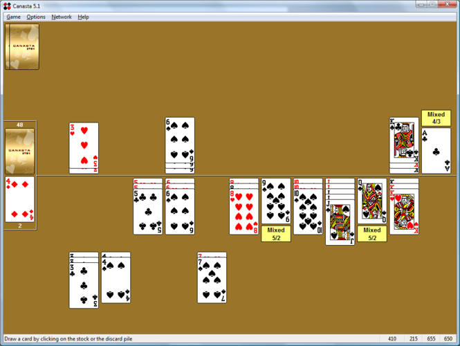 Canasta for Windows Screenshot