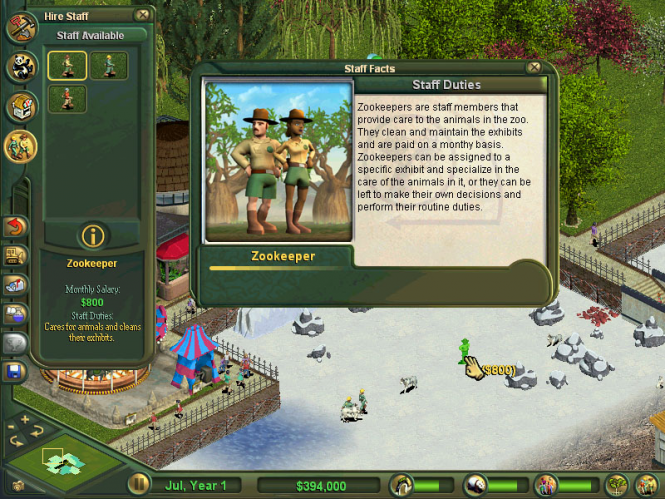 Zoo Tycoon 2 Screenshot