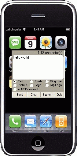 SMS-it Screenshot 1