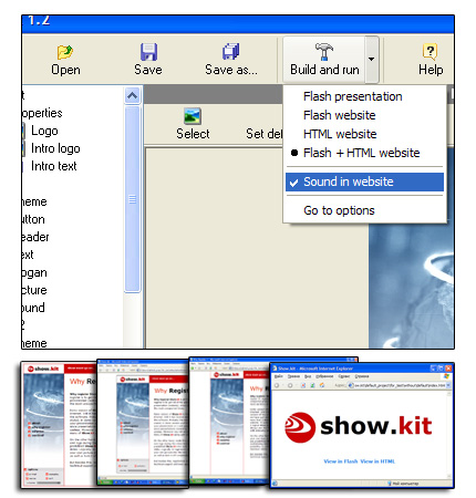 Show.kit Screenshot