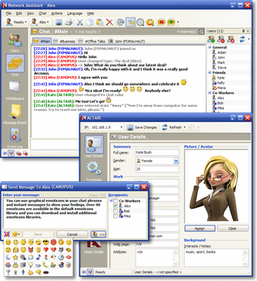 Network Assistant Screenshot