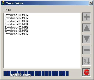 Movie Joiner Screenshot