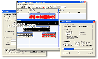 Acoustica MP3 Audio Mixer Screenshot 4