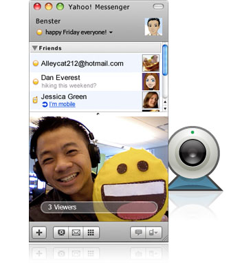 Yahoo Messenger Screenshot