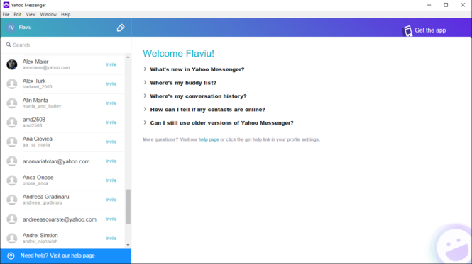 Yahoo Messenger Screenshot 4