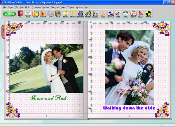 FlipAlbum Pro Screenshot 1