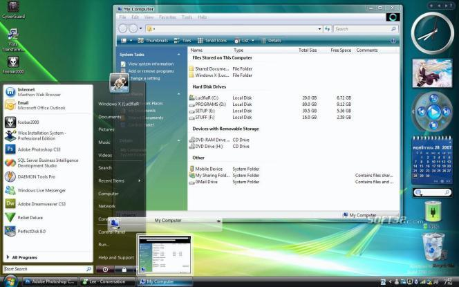 Windows Vista Transformation Pack Screenshot 1
