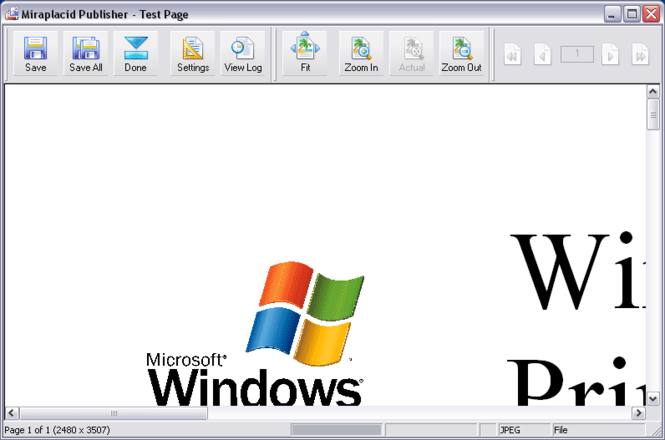 Miraplacid Publisher Screenshot