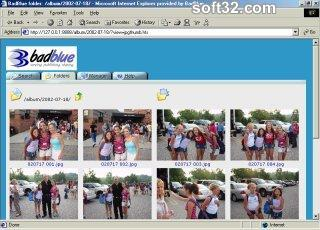 BadBlue Easy File Sharing Server Screenshot 2
