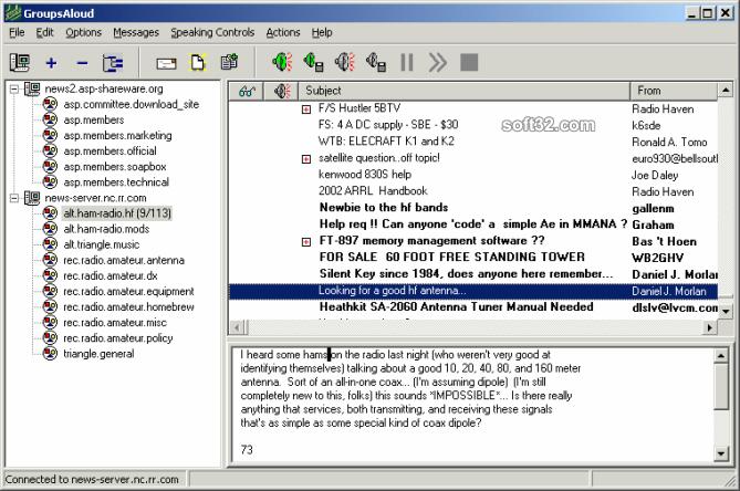 GroupsAloud Screenshot 3
