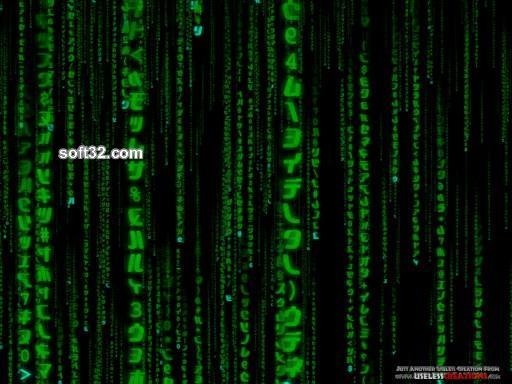 Matrix Screensaver Screenshot 2