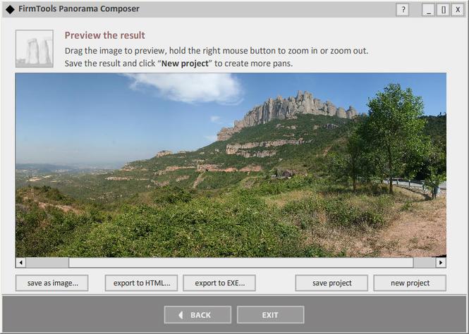 FirmTools Panorama Composer Screenshot 2