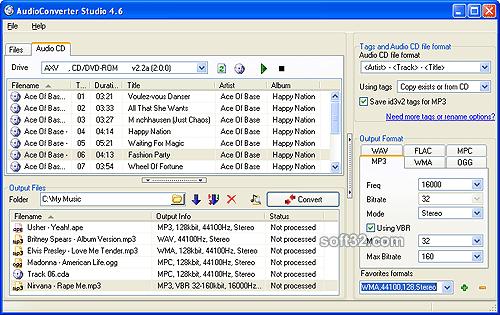 AudioConverter Studio Screenshot 2
