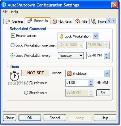 AutoShutdown Screenshot 2