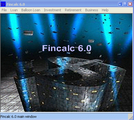 Fincalc Screenshot