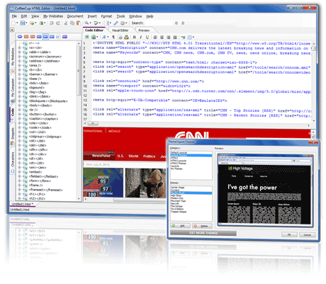 CoffeeCup HTML Editor Screenshot