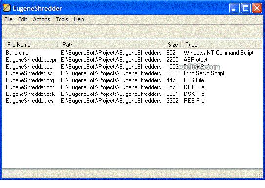 EugeneShredder Screenshot