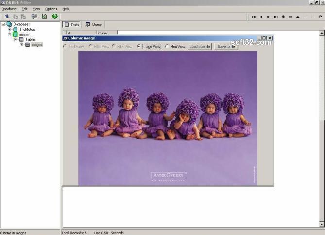 DBBlobEditor Screenshot 3
