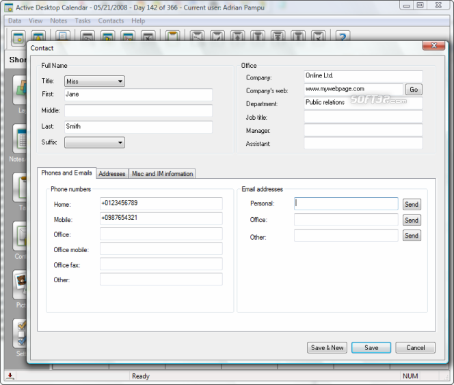 Active Desktop Calendar Screenshot 5