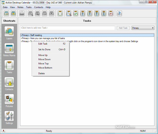 Active Desktop Calendar Screenshot 6